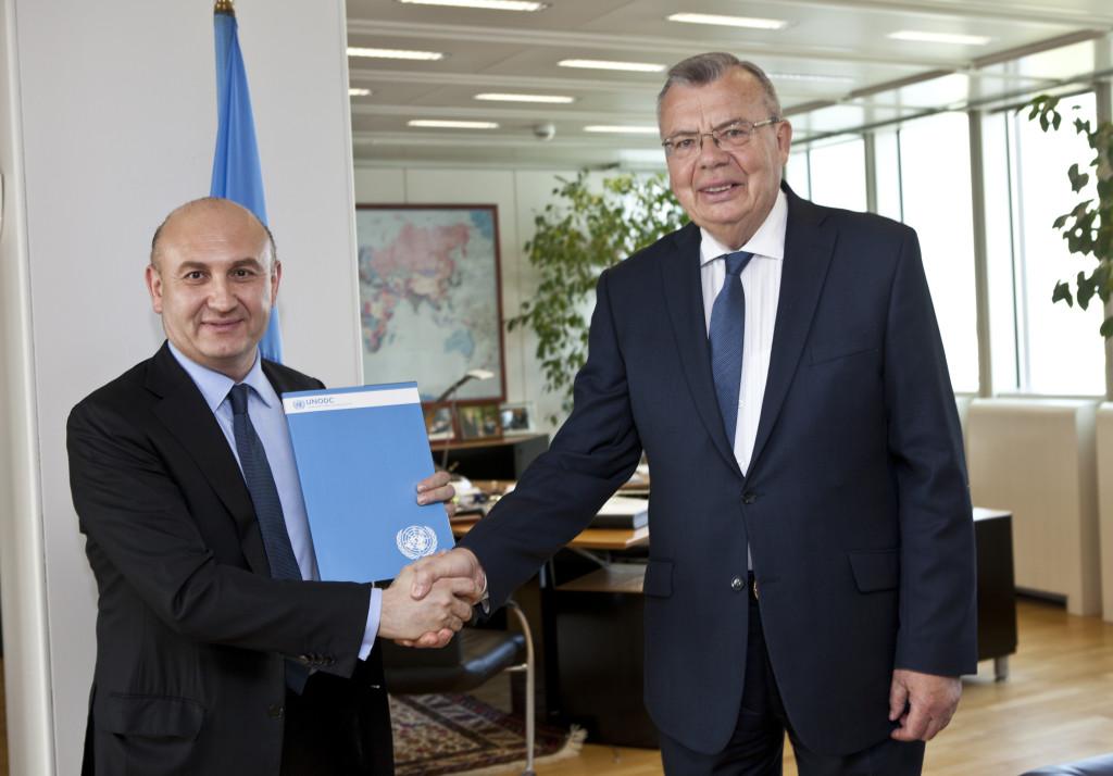 Mag. Ali Rahimi und Yury Fedotov